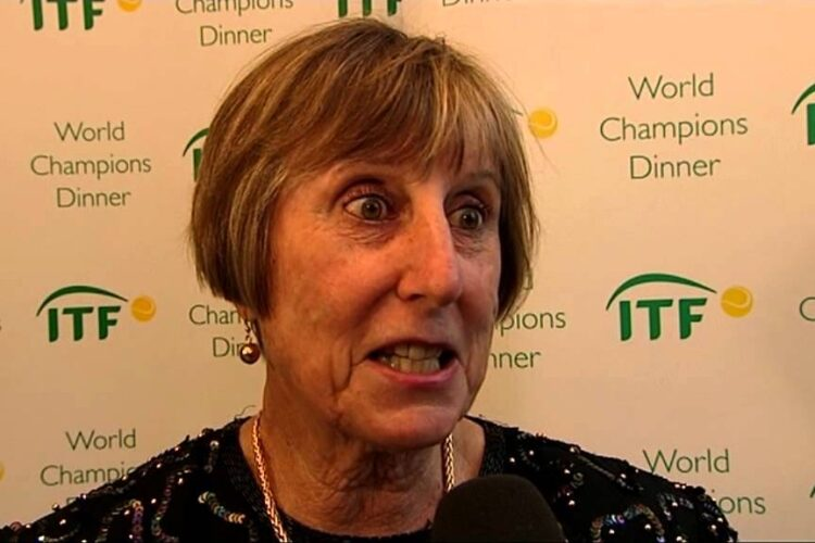 Francoise Durr, a retired French professional tennis player.