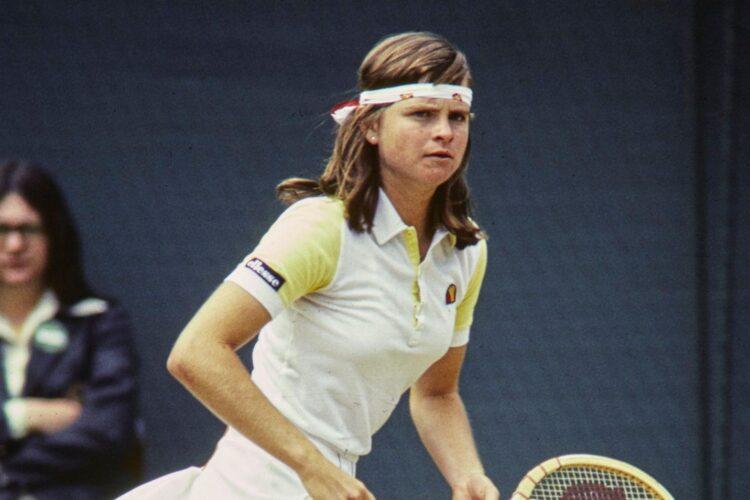 Hana Mandlikova, a former professional tennis player from Czechoslovakia who later obtained Australian citizenship.