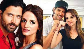 Hrithik Roshan and Sussanne Roshan, It was not really a scandal that after almost fourteen years of marriage divorce between Hrithik Roshan and Sussanne Roshan
