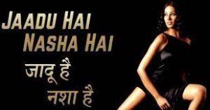 Jadoo hai nasha hai-Jism, singer is Shreya Ghoshal, composer is M. M. Keeravani