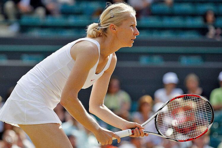 Jana Novotna, a professional tennis player from the Czech Republic.