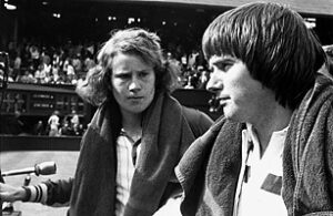 Jimmy Connors and John McEnroe met four times in the semifinals of the US Open