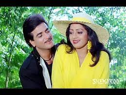 Jitender and Sridevi, Sridevi gave the credit to Jeetendra for her success in Hindi film industry.
