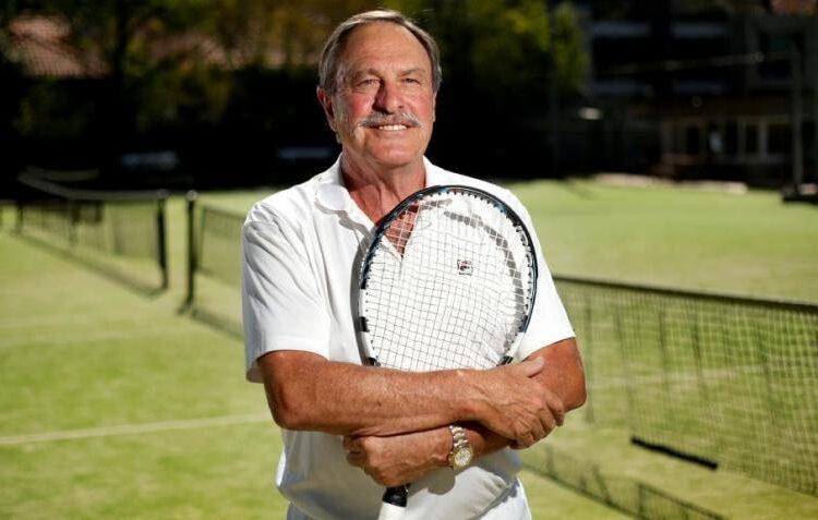 John Newcombe, an Australian former professional tennis player.