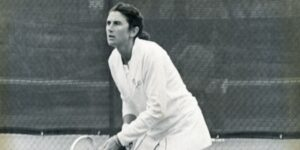 Judy Tegart, a retired professional tennis player from Australia who won nine Grand Slam doubles titles.