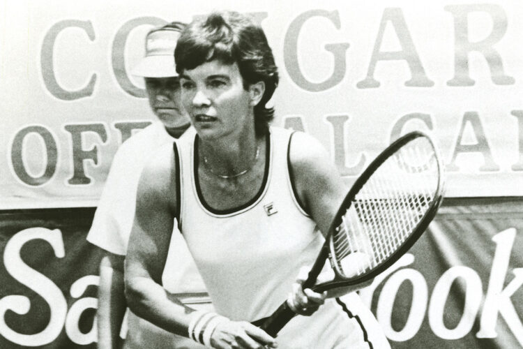 Kerry Melville, a former professional tennis player from Australia.
