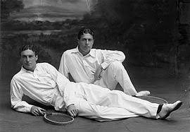 Laurence Doherty, a British tennis player and the younger brother of tennis player Reginald Doherty.
