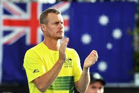 Lleyton Hewitt, an Australian semi-retired professional tennis player and former world No. 1.
