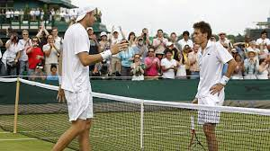 The longest tennis match lasted for 11 hours and 5 minutes and was contested over three days between John Isner and Nicolas Mahut at 2010 Wimbledon.
