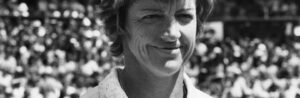 Margaret Court Smith, an Australian retired tennis player and former world No. 1.