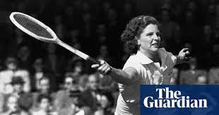 Margaret Osborne DuPont, a world No. 1 American female tennis player.
