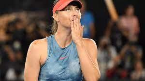 Maria Sharapova, a Russian former professional tennis player.