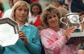 Martina vs. Evert, rivalry was a tennis rivalry in the 1970s and 1980s between Chris Evert and Martina Navratilova, widely regarded as two of the greatest tennis players of all time.