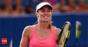 Martine Hingis, a Swiss former professional tennis player.
