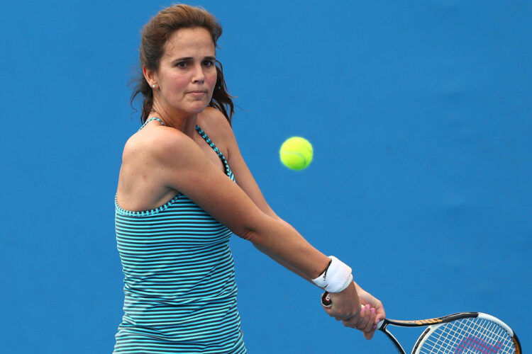 Mary Joe Fernández, an American former professional tennis player, who reached a career-high ranking of world No. 4 in both singles and doubles.