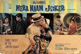 Mera Naam Joker 1970, Raju faces many hurdles and disappointments in matters of the heart throughout his life.