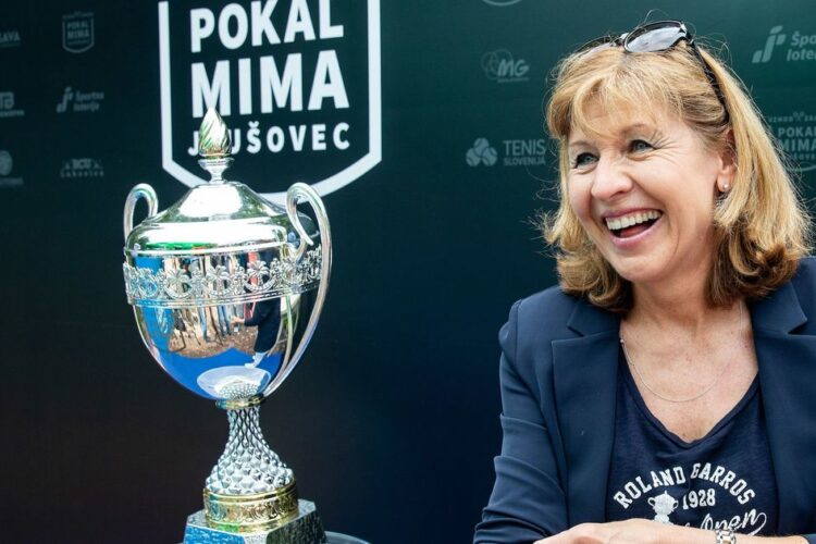 Mima Jausovec, a retired Slovenian tennis player. She won the 1977 French Open singles championship.
