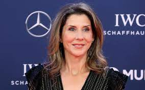 Monica Seles, a retired professional tennis player, who represented Yugoslavia and the United States.
