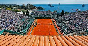 Monte Carlo Rolex Masters Tennis Tournament, an annual tennis tournament for male professional players held in Roquebrune-Cap-Martin, France, a commune that borders on Monaco.