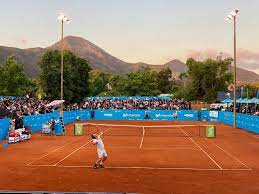 Movistar Open Tennis Tournament, a men's tennis tournament played on outdoor clay courts.