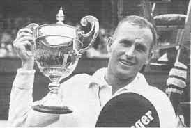 Neale Fraser, a former number one amateur male tennis-player from Australia,