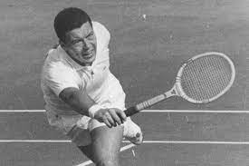 Nicola Pietrangeli, a former Italian tennis player. He won two singles titles at the French Championships