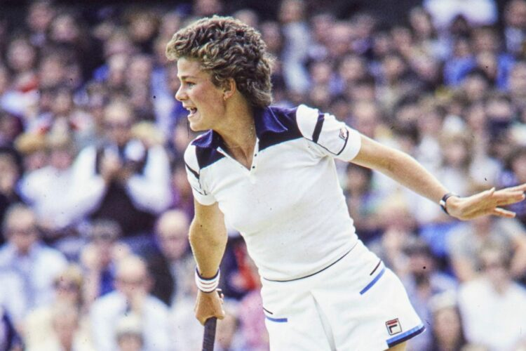 Pam Shriver, an American former professional tennis player.