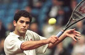 Pete Sampras, an American former professional tennis player.