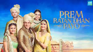 Prem Ratan Dhan Payo, Prem, who looks like Prince Yuvraj Vijay Singh, replaces him just before his half-brother is set to be crowned as the king.