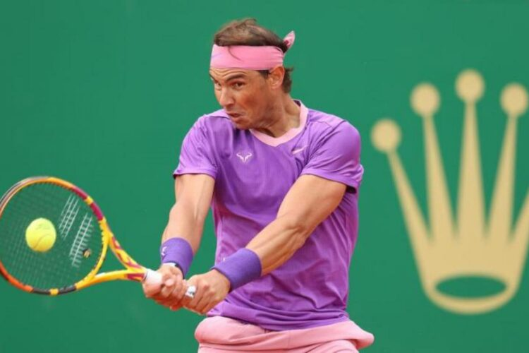 Rafael Nadal, a Spanish professional tennis player.