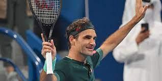 Roger Federer, a Swiss professional tennis player.