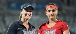 """Sania Mirza and Martina Hingis, Martina Hingis and India's Sania Mirza, also known as """"Santina"""", were a lethal combination when they were firing on all cylinders"""