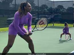 Serena Williams, an American professional tennis player and former world No. 1 in women's single tennis.