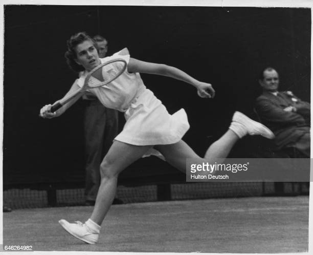 Shirley Fry Irvin, a former world No. 1 tennis player from the United States.