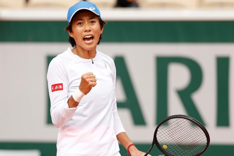 Shuai Zhang, a Chinese professional tennis player. She has a career-high singles ranking of world No. 23,