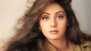 Sridevi, an Indian actress and film producer, who worked in Telugu, Tamil, Hindi, Malayalam, and Kannada language films.