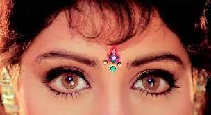 Sridevi eyes, has the most beautiful eyes!