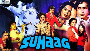 Suhaag, Long-lost twins, Amit and Inspector Kishan, happen to cross paths and develop a deep bond.