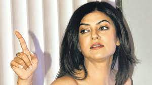 Sushmita Sen hands, has long bony hands which always add to her on screen attraction.
