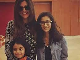 Sushmita Sen, has two adopted daughters - Renee and Alisah.