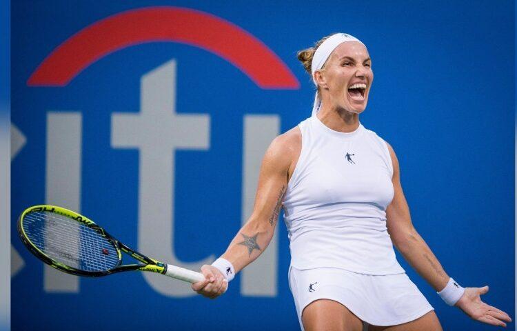 Svetlana Aleksandrovna Kuznetsova, a Russian professional tennis player. She has appeared in four Grand Slam singles finals,