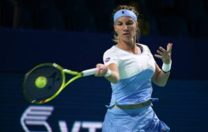 Svetlana Kuznetsova, a Russian professional tennis player.