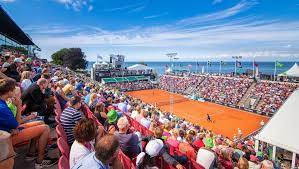 Swedish Open, an ATP Tour 250 tennis tournament on the ATP Tour held in Båstad, Sweden in July each year.