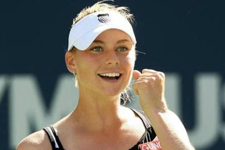 Vera Zconareva, a Russian tennis player. She was introduced to tennis at the age of six and turned professional in 2000.