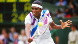 Zina Garrison, a former top five professional tennis player from the United States.