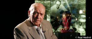 Alfredo di Stefano, an Argentine-born professional footballer and coach,