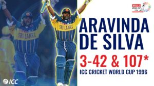 Aravinda De Silva, a former Sri Lankan cricketer and former captain. He has also played in English county cricket.