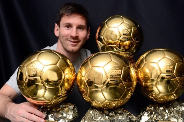 Ballon d'Or for the best Footballer, The Ballon d'Or is an annual football award presented by French news magazine