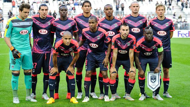 Bordeaux football club, a French professional football club based in the city of Bordeaux in Gironde, Nouvelle-Aquitaine.
