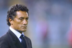Claudio-Gentile, an Italian association football manager and former defender of the 1970s and 1980s.